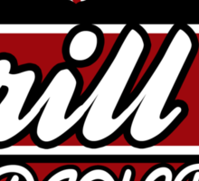 Grill 13, Raccoon City - Resident Evil Diner Tee Sticker