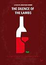 No078 My Silence of the lamb minimal movie poster by Chungkong