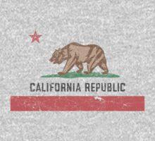 Vintage California Flag Kids Clothes