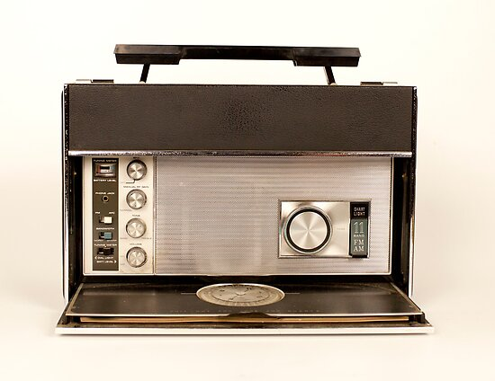ghettoblaster radio by dubassy