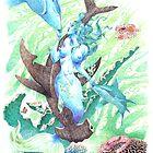 Water ( Mermaid ) by jatujeep
