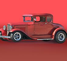 1930 Ford Model A Coupe w/o ID by DaveKoontz
