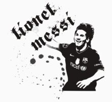 Lionel Messi T Shirt by Leopard