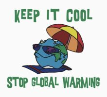 "Earth Day ""Keep It Cool - Stop Global Warming"" T-Shirt"