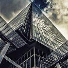 The shard London by Sharonroseart