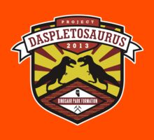 Project Daspletosaurus Tee - Dark Color Kids Clothes