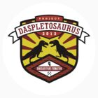 Project Daspletosaurus Sticker by David Orr