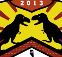 Project Daspletosaurus Sticker Sticker