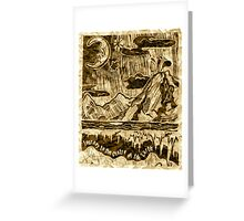 Journey to the Centre of the Earth Greeting Card