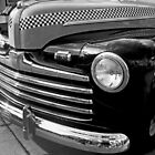 Black and White Checkered Cab by John  Kapusta
