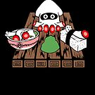 Blooper Sushi is what&#x27;s for dinner by scribbleworx