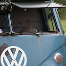 VW split screen camper van  by Martyn Franklin