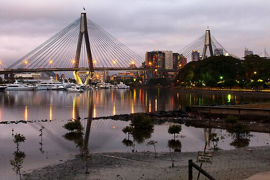 ANZAC Bridge, Sydney by Chris Westinghouse
