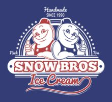 Snow Bros Ice Cream by MeleeNinja