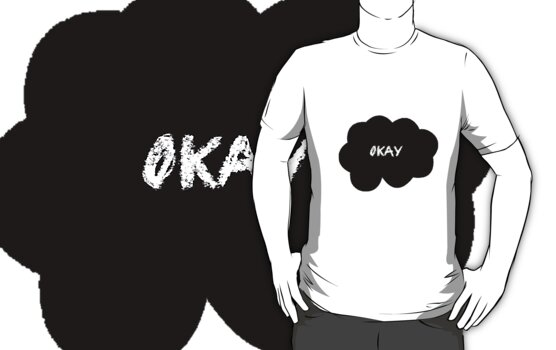 Okay Black by camillebourret