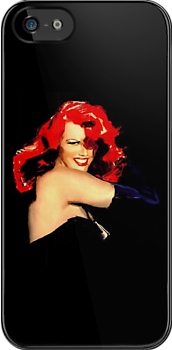 Voluptious Red Head Rita Hayworth by dollyforsue