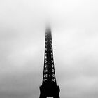The Eiffel Tower in The Clouds by Rachel Nacilla