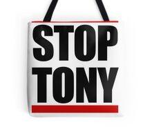 STOP TONY Tote Bag