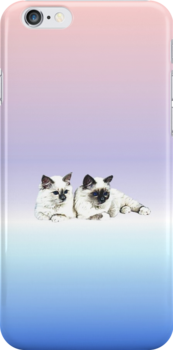 "I-phone case ""Burma Cat"" #1 by scatharis"