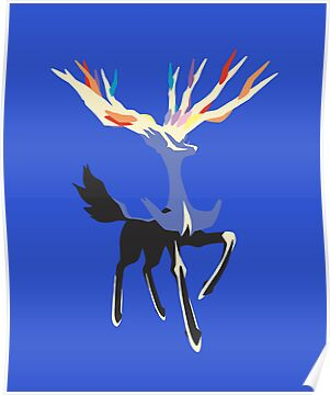 Xerneas by ArcaneFire