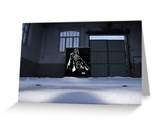 Vader spraypainting Greeting Card