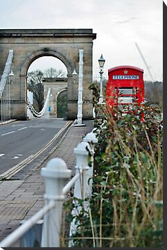Telephone Box, Marlow, Bucks by Astrid Ewing Photography