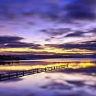 Mortimer Bay at Sunset by Julien Johnston