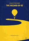 No177 My Wizard of Oz minimal movie poster by Chungkong