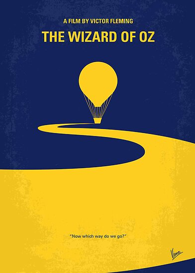 No177 My Wizard of Oz minimal movie poster by Chungkong
