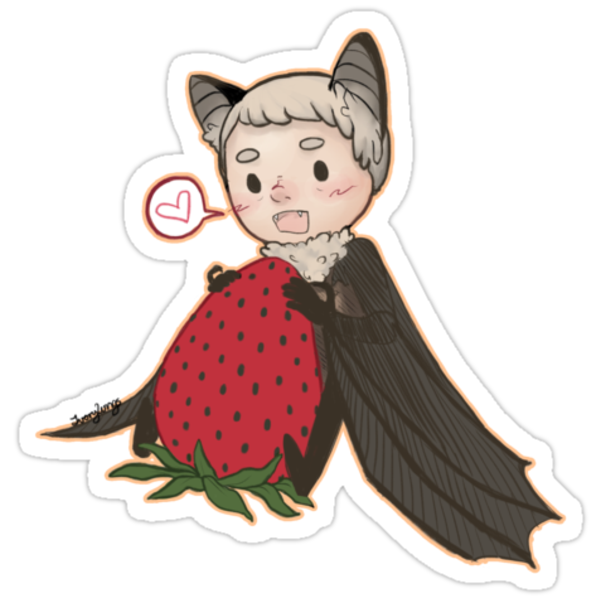 Batjohn- Strawberry! by ivorylungs