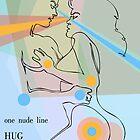 one line hug by jatujeep