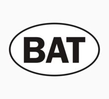 BAT - Oval Identity Sign by Ovals