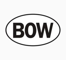 BOW - Oval Identity Sign by Ovals