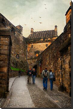 Edinburgh Castle 2 by Yannik Hay
