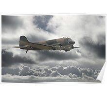 Dakota DC3  - Aerial Workhorse Poster
