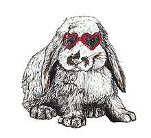Lolita Bunny Photographic Print