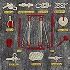 Seaman's knots by Ruta Dumalakaite