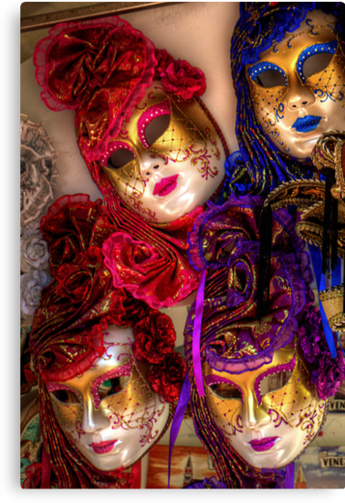 Venetian Masquerade Masks by Tom Gomez