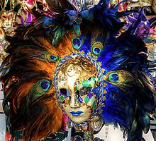 Venetian Carnival Mask by Tom Gomez