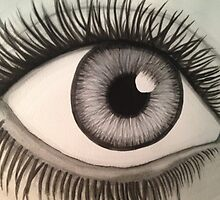 Ailing Eye by Brittany Alms