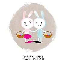 Bunny Love by Holly Hatam