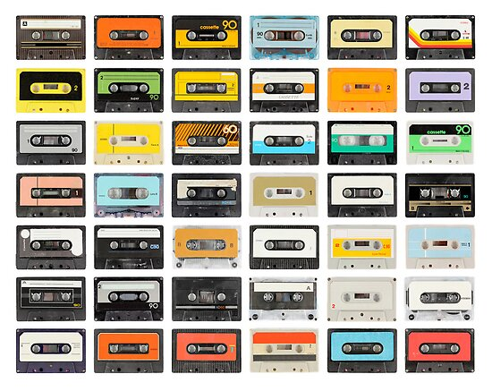 awesome old cassette collection by dubassy