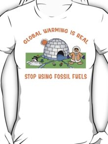 Earth Day Stop Global Warming T-Shirt