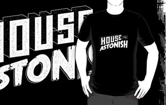 House to Astonish – White logo by HouseToAstonish
