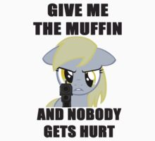 Derpy Wants Her Muffin by Trony13