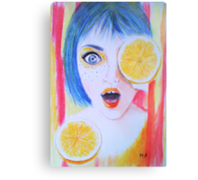 Juicy  Canvas Print