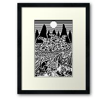 Night-Gaunts Framed Print