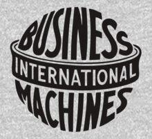 Vintage IBM Logo by TaVinci