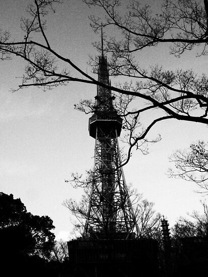 Nagoya TV Tower 5  by Fike2308