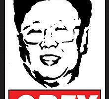 Kim Jong Il Obey by HazzPott
